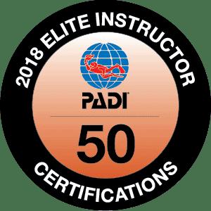 PADI Elite Instructor 2018