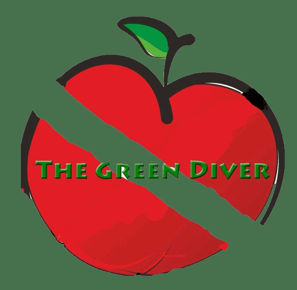 The Green Diver Logo