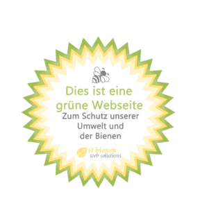 Sustainability in the web - green certificate it bienen